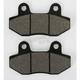 Front Street HF Ceramic Brake Pads - 814HF
