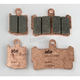 Front Excel HS Sintered Metal Street Brake Pads - 869HS