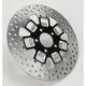 Rear 11.5 in. Slam Two-Piece Contrast-Cut Brake Rotor - 01331523SLMLSBM
