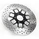 Front 11.8 in. Slam Two-Piece Contrast-Cut Brake Rotor - 01331800SLMLSBM