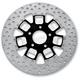 Rear 11.8 in. Slam Two-Piece Contrast-Cut Brake Rotor - 01331802SLMLSBM