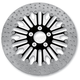 Front 13 in. Boss Two-Piece Contrast-Cut Brake Rotor - 01333015BSSSSBM