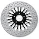 Rear 11.8 in. Boss Two-Piece Contrast-Cut Brake Rotor - 01331802BSSSSBM