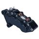 Black J-Six Ultra Six-Piston Front Brake Caliper for 11.5 Inch Rotors - 376T-163