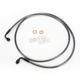 Black Pearl Designer Series 90 Degree Top Angle Custom Single-Disc Front Brake Line - 46260SW