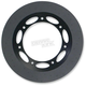 300mm Front Anodized Black Lug-Drive Brake Rotor - NVLD-300FBSEOA