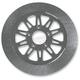11.5 in. Front Chrome Omega Lug-Drive Brake Rotor - NVLD-115FC10SC