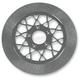 11.8 in. Front Chrome Gemini Lug-Drive Brake Rotor - NVLD-118FC20SC