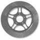 11.8 in. Rear Chrome Triangulum Lug-Drive Brake Rotor - NVLD-118RCT5SC