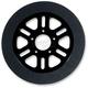 11.8 in. Front Black Indy Lug-Drive Brake Rotor - NVLD-118FB06SA