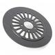 11.8 in. Front Anodized Black Millennium 20 Spoke Lug-Drive Brake Rotor - NVLD-118FBM20A