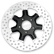 Rear 11.8 in. Morris Two-Piece Black Ops Brake Rotor - 01331802MRSLSMB