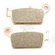 SI Sintered Metal Compound Brake Pads - 604SI