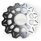 Rear Stainless Vee Brake Rotor - VR3002