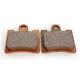Standard Sintered Metal Brake Pads - DP525