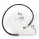 Front Standard Length ABS Black Vinyl Brake Line Kit - 1741-3764