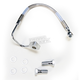 Rear Standard Length ABS Stainless Steel Brake Line Kit - 1741-3781