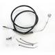 Front Standard Length ABS Black Vinyl Brake Line Kit - 1741-3848