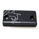 Black Front Brake Master Cylinder Cover - 35-0221-00-60