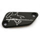 Black Rear Brake Master Cylinder Cover - 35-0561-00-60