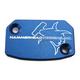 Blue Front Brake Master Cylinder Cover - 35-0562-00-20
