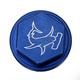 Blue Rear Brake Master Cylinder Cover - 36-0561-00-20