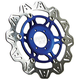 Front Blue Vee Brake Rotor - VR2074BLU