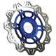 Front Blue Vee Brake Rotor - VR2102BLU