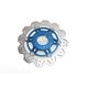 Front Blue Vee Brake Rotor - VR3003BLU