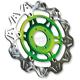 Front Green Vee Brake Rotor - VR4132GRN