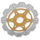 Front Gold Vee Brake Rotor - VR614GLD