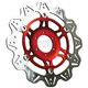 Front Red Vee Brake Rotor - VR2001RED