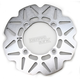 Front/Rear Stainless CX Extreme Vee Brake Rotor - MD6166CX