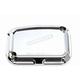 Front Chrome Beveled Brake Master Cylinder Cover - 03-404