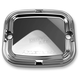 Front Chrome Slot Track Brake Master Cylinder Cover - 03-413