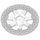 11.5 in. Front Chrome Delmar Two-Piece Brake Rotor - 01331522DELSSCH