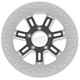 11.5 in. Front Contrast Cut Ops Delmar Two-Piece Brake Rotor - 01331522DELSSBM