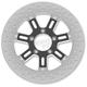 11.5 in. Rear Contrast Cut Ops Delmar Two-Piece Brake Rotor - 01331523DELLSBM