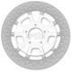 11.5 in. Rear Chrome Raider Two-Piece Brake Rotor - 01331523RRDLSCH