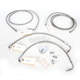 Stainless Steel Brake Line Kit For Use With 12-14 Inch Ape Hangers w/ABS - LA-8050B13