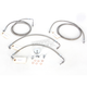 Stainless Steel Brake Line Kit For Use With 18-20 Inch Ape Hangers - LA-8051B19