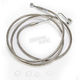 Front ABS Extended Length Stainless Steel Braided Brake Line Kit +10 in. - 1741-3993