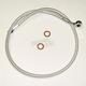 Custom Sterling Chromite II Designer Series ABS Upper Brake Line - 180°, 10mm, 16 in. - AS37616