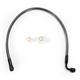 Black Pearl Designer Series ABS Upper Brake Line - 90°, 10mm, 21 in. - AS47221