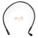 Black Pearl Designer Series ABS Upper Brake Line - 90°, 10mm, 24 in. - AS47224