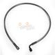 Black Pearl Designer Series ABS Upper Brake Line - 90°, 10mm, 30 in. - AS47230