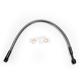 Black Pearl Designer Series ABS Upper Brake Line - 180°, 10mm, 15 in. - AS47615