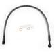 Black Pearl Designer Series ABS Upper Brake Line - 180°, 10mm, 21 in. - AS47621