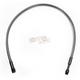 Black Pearl Designer Series ABS Upper Brake Line - 180°, 10mm, 24 in. - AS47624