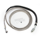 Extended Length Stainless Steel Braided Clutch Line +10 in. - 0661-0007